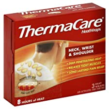 ThermaCare Heat Wraps, Neck, Wrist & Shoulder 3 heat wraps