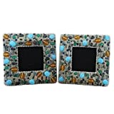Home Decor Photo Frame Indian Gift Vintage Style Lac Beaded Decorative Picture Frame Table Top Handmade Photo...