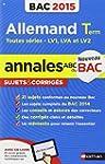 Annales ABC du BAC 2015 Allemand Term...