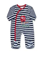 Pitter Patter Baby Gifts Body (Azul Marino / Gris)