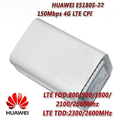 Newest Mini Huawei E5180s-610 LTE Cat4 Router 4G CPE 2G 3G 4G (FDD) 2600/2100/1800/900/800 MHz (TDD) 2600 MHz C-HSPA+/HSPA+/UMT