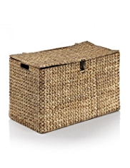 Water Hyacinth Blanket Box