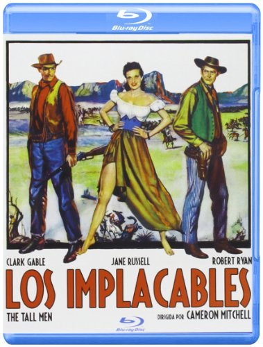 The Tall Men [ Blu-Ray, Reg.A/B/C Import - Spain ]
