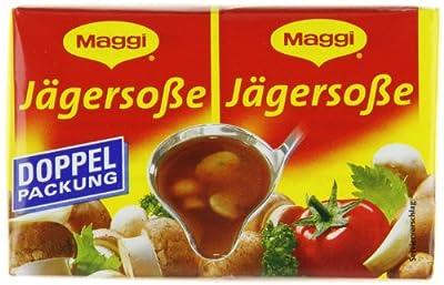 Maggi Delikatess Doppelpack Jägersoße, 18er Pack (18 x 500 ml Karton) von Maggi bei Gewürze Shop