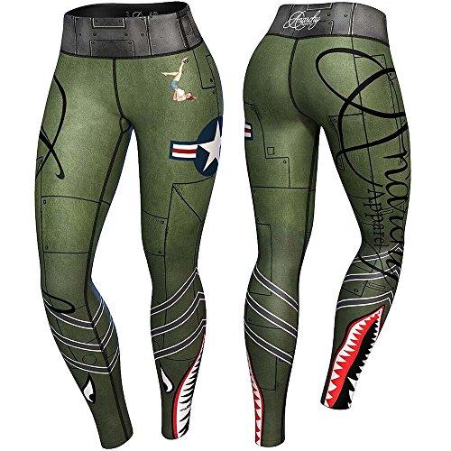 anarchy-apparels-compression-leggings-bomber-fitness-hosen-gym-pants-training-grosse-m