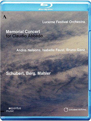 Memorial Concert For Claudio Abbado (Gedenkkonzert für Claudio Abbado) [Blu-ray]