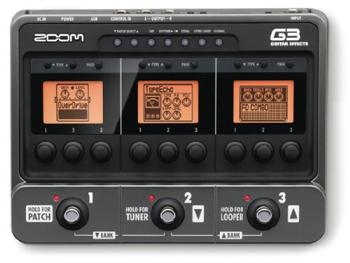 ZOOM Effects Guitar Amp Simulator G3 Version 2.0 (Japan Import)