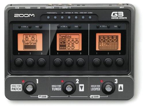 ズーム ギター用エフェクト・アンプシミュレーター G3 Version 2.0