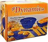 Dynamic 555 5-Piece Silicone Bake Set