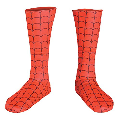 Adult Spider Man Costume Boot Covers