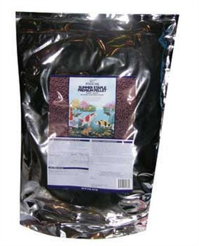 PondCare Summer Staple Pellet Fish Food, 15-Pound