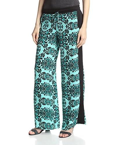 Silva Women's Ikat Printed Wide Leg Pant