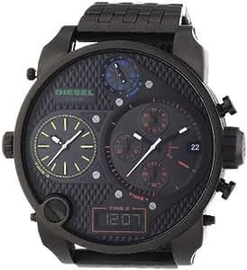 Diesel Herren-Armbanduhr XL SBA Chronograph Quarz Edelstahl beschichtet DZ7266