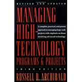 Managing High-Technology Programs and Projects, Third Edition