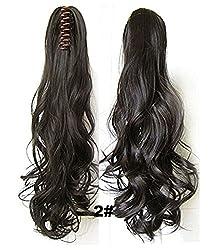 Majik Clutcher Hair Extensions (Black)