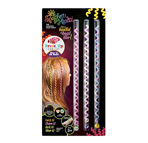 Spaghetti Headz Dress up 3 Pack Glow in the Dark