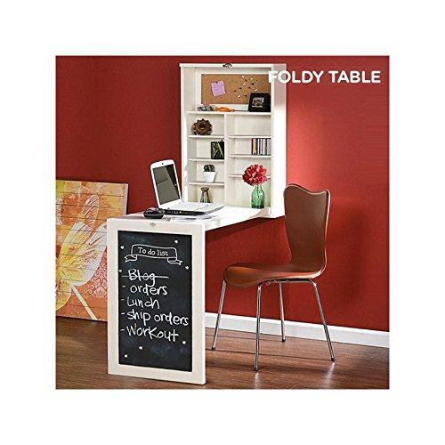 Table murale rabattable les bons plans de micromonde for Bureau mural rabattable