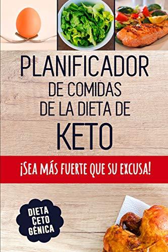 Planificador de Comidas de la Dieta de Keto Un planificador de comidas bajas en carbohidratos de 90 días para ayudarle a perder peso | ¡Sea más ... un registro de lo que come  [Bralfa, Studio] (Tapa Blanda)