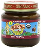 Earths Best Organic 1st, Prunes, 2.5 Ounce Jars (Pack of 12)