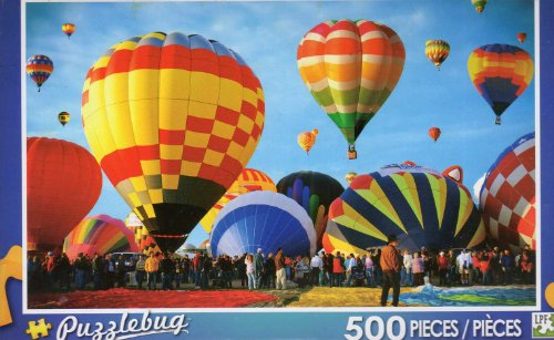 Albuquerque Balloon Fiesta - Puzzlebug - 500 Pc Jigsaw Puzzle - NEW