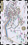 Streetwise Venice Water Bus Map - Laminated Vaporetto Venice Map for Travel - Pocket Size