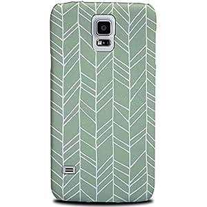 CASE U Hand Drawn Traditional Tribal Pattern Designer Case for Samsung Galaxy S5