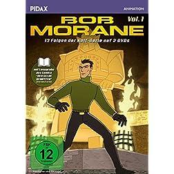 Bob Morane, Vol. 1 / 13 Folgen der beliebten Zeichentrickserie nach der Romanreihe von Henri Vernes + Booklet