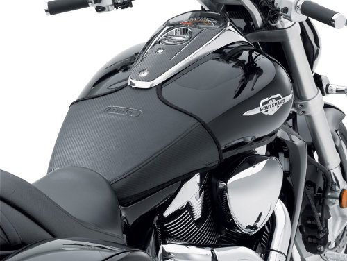 Suzuki M109R Integrated LED Taillight CUSTOM PAINTED GLOSS BLACK WITH LOGO
