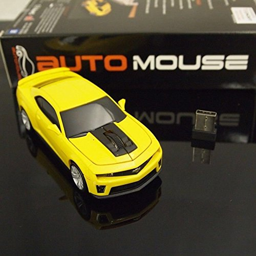 AutoMouse Chevrolet Camaro ZL 1 Car,2.4GHz Wireless Laser Optical Computer Mouse (Mouse Camaro compare prices)