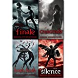 Becca Fitzpatrick Hush Hush Series Collection 4 Books Set. (Hush, Hush Crescendo Silence Finale[hardcover])