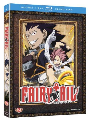 フェアリーテイル シーズン2(第13-24話収録) [北米版][Blu-ray+DVD Box]日本語音声・英語音声字幕版