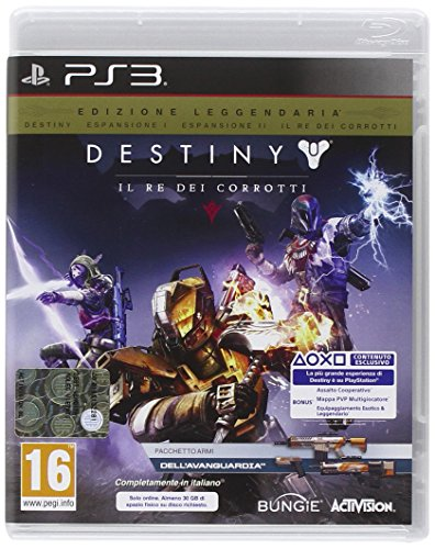 Destiny: Il Re dei Corrotti - Legendary Edition - Day-one - PlayStation 3