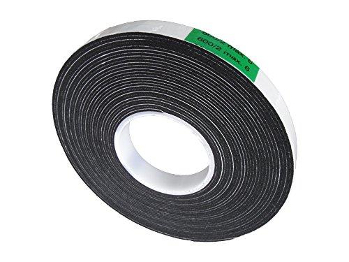 Fugendichtband FILL 600 15mm breit schlagregensicher von 2mm bis 6mm 12m Rolle schwarz DIN 18542 BG1