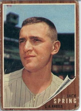 Amazon.com: 1962 Topps Baseball Card Topps Rookie Card #257 Jack