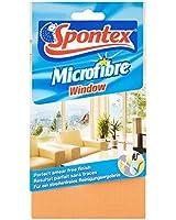 Spontex  Ménage  1 Lavette Microfibre Spécial Vitres  Lot de 2