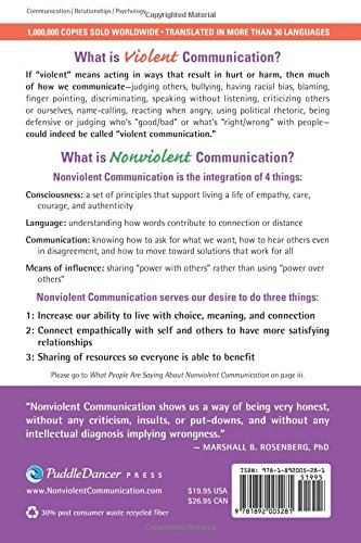 Nonviolent Communication: A Language of Life (Nonviolent Communication Guide)