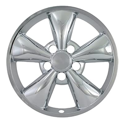 "Bully Imposter IMP-319X, Ford, 17"" Chrome Replica Wheel Cover, (Set of 4)"