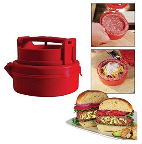 ETGtek(TM) 1pcs Stuffed Hamburger Burger Press Meat Pizza Stuffed Juicy Patty Maker Grill