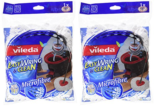 Vileda Easy Wring & Clean Microfibre Refill for Mop-[Pack of 2]