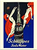 Schweppes Soda Water, Vintage Advert from 1920s (30x40cm Art Print)