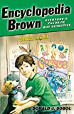 img - for Encyclopedia Brown Solves Them All (Turtleback School & Library Binding Edition) book / textbook / text book