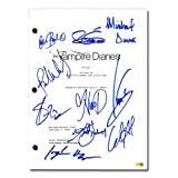 The Vampire Diaries Cast Autographed The Vampire Diaries Pilot Episode Script