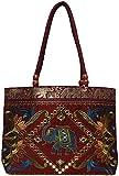Craftshraft Women's Shoulder Bag (Maroon)