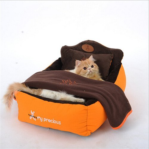 luxury dog beds designer pet beds with cozy pillow With dog bed with blanket