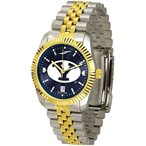 Brigham Young Cougars NCAA AnoChrome Executive Mens Watch by SunTime