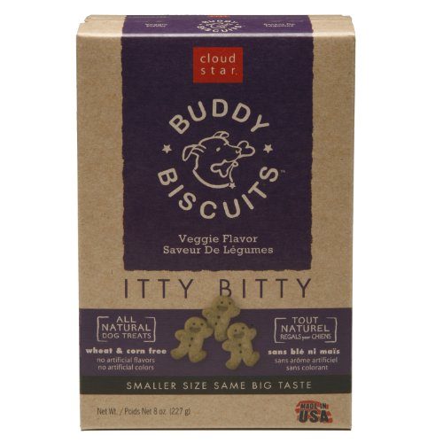 Cloud Star Itty Bitty Buddy Biscuits Dog Treats,