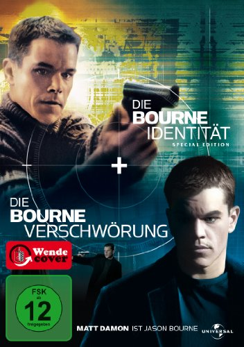 Bourne Collection (Bourne Identität & Bourne Verschwörung) [Limited Edition] [2 DVDs]