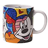 Disney by International Artist Romero Britto for Enesco Mickey Mouse Mug 4.25 IN