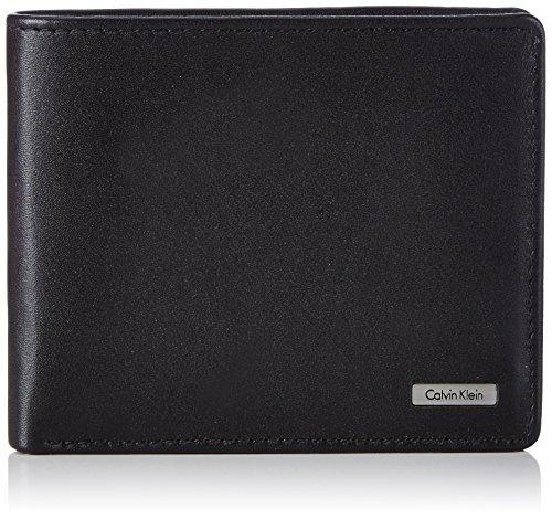 Calvin Klein  Rail 10CC K50K500720 - Portafoglio Uomo, 12x10x2 cm, Colore Nero