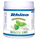 Rhino HEALTH GRO-Herbal Anti Fatigue Health Supplement For Energy Enhancement (200 Grams)